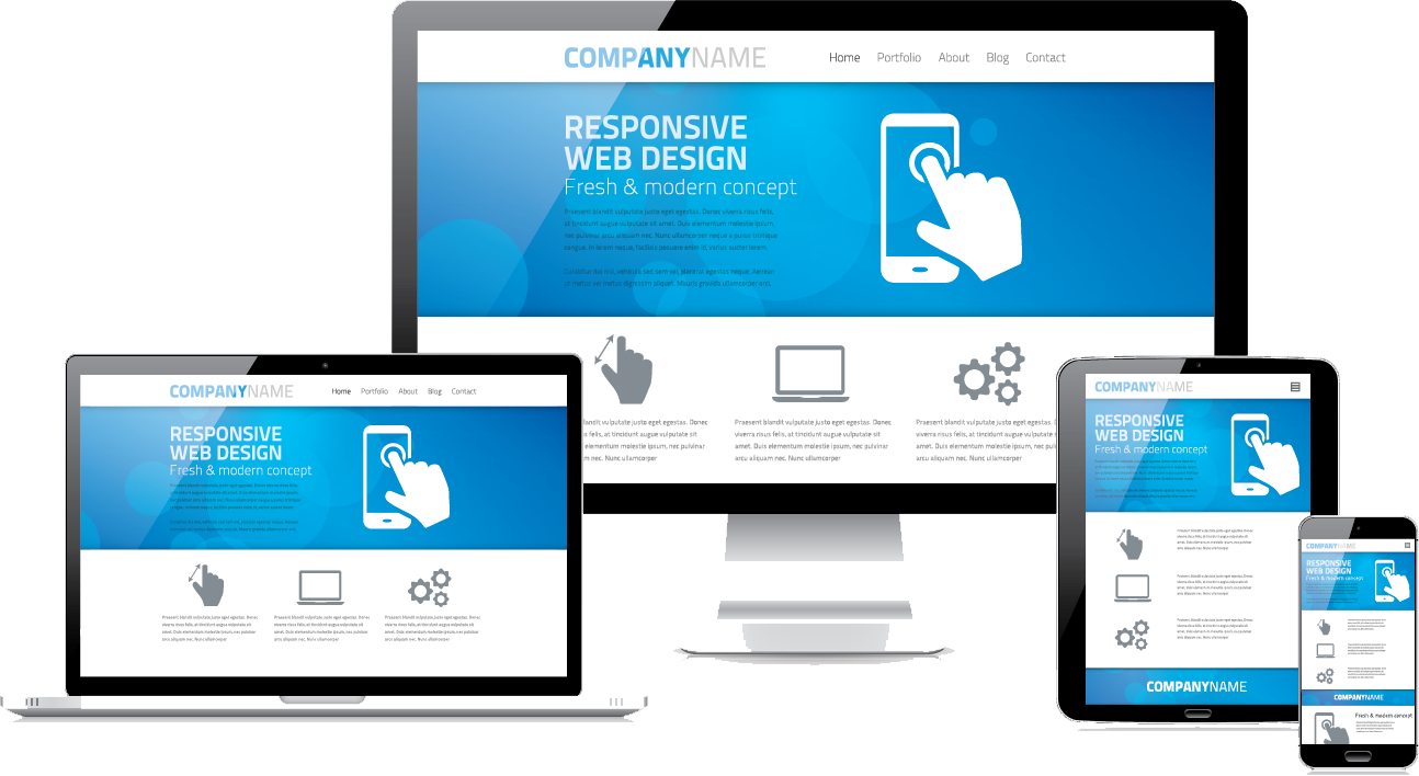 Responsive and up to date website design